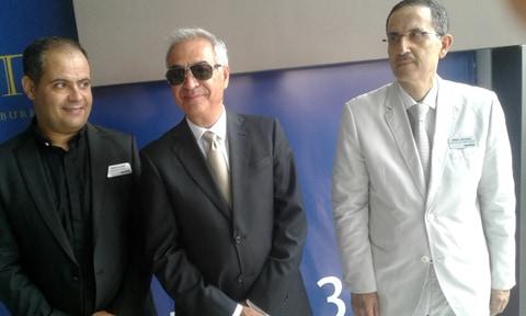Seul le maire de Sousse Mohamed Ikbel Khaled est venu inaugurer ce projet important et féliciter son promoteur Samir Jaieb
