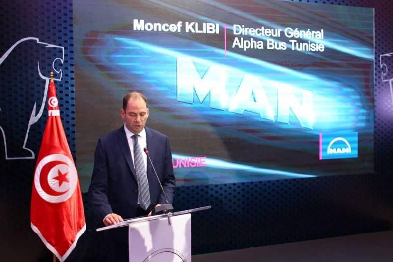 Moncef Klibi, Directeur Général d'Alpha Bus Tunisie