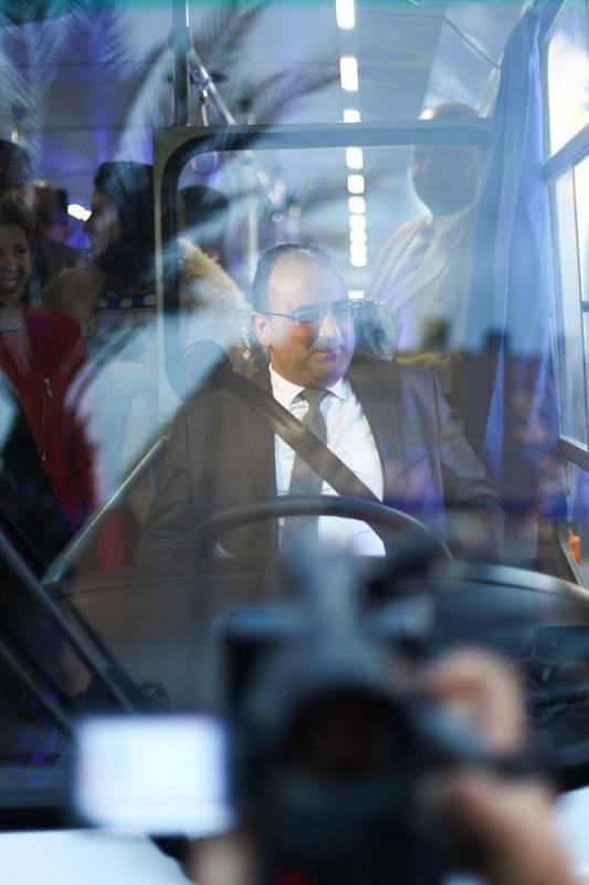 Anis Ghedira, Ministre du Transport
