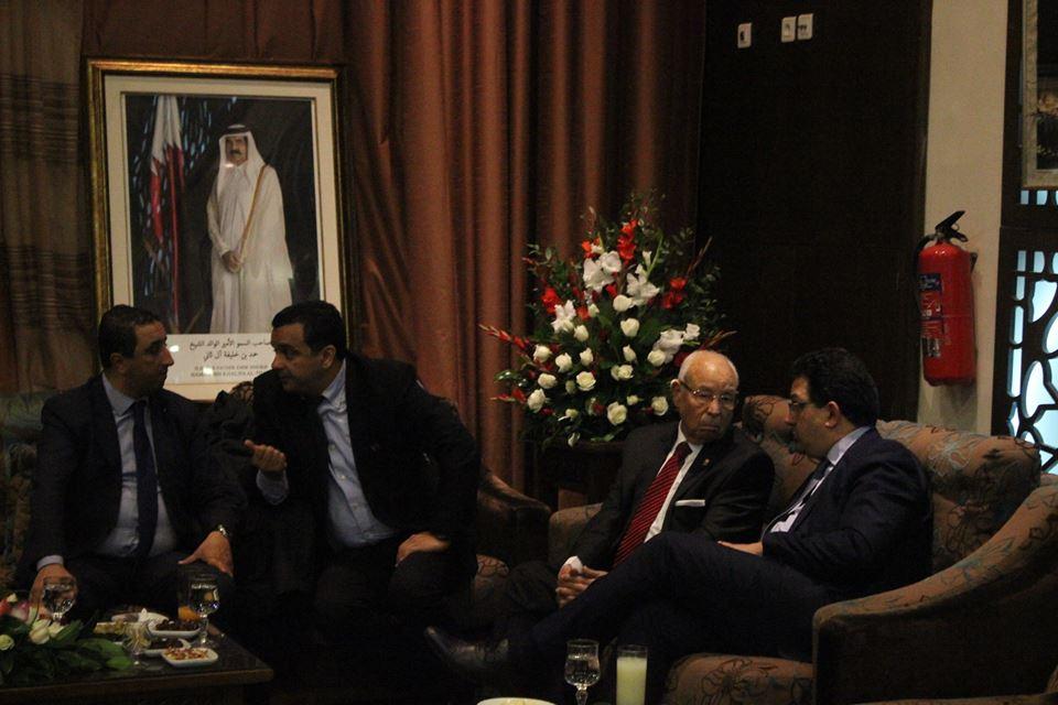 L'Emir du Qatar à Dakar