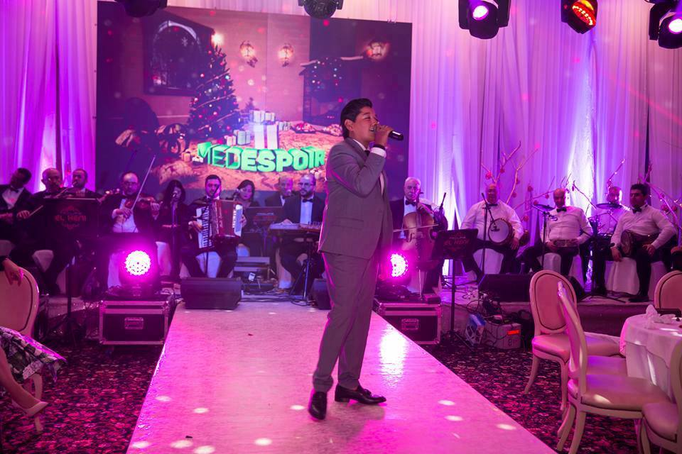 Le chanteur Rayan Youssef