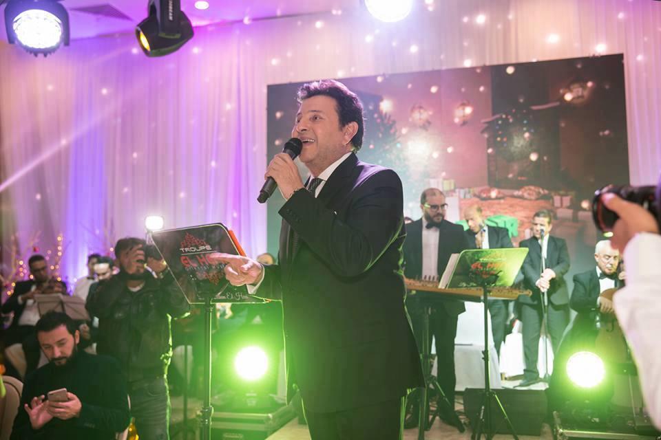 Le chanteur égyptien Hani Chaker