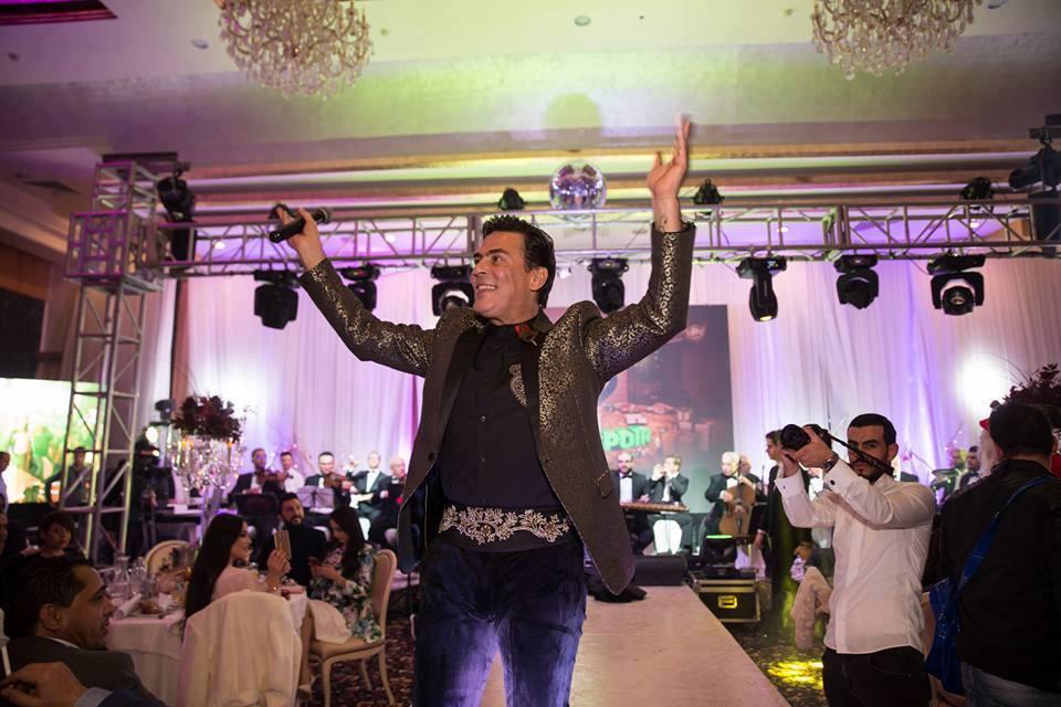 Le chanteur Rochdi Alouane