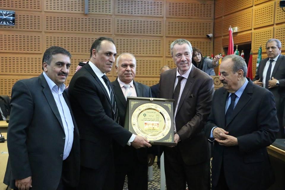 Une cérémonie a été organisée pour rendre hommage aux sélections nationales arabes qualifiées pour la Coupe du monde Russie 2018 à savoir la Tunisie, Maroc, Egypte et Arabie Saoudite.