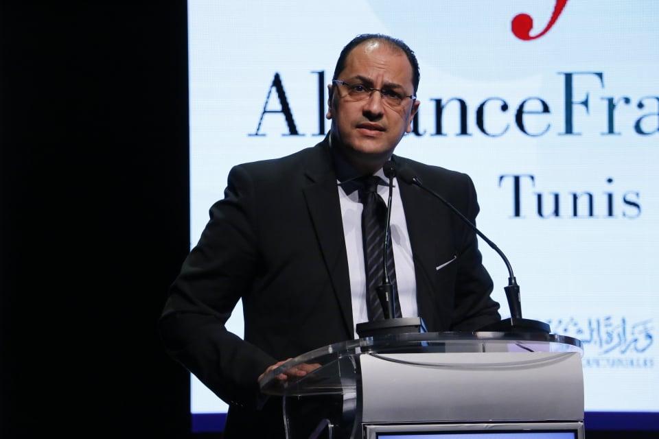 Le ministre de l'Enseignement supérieur et de la Recherche scientifique, Slim Khalbous