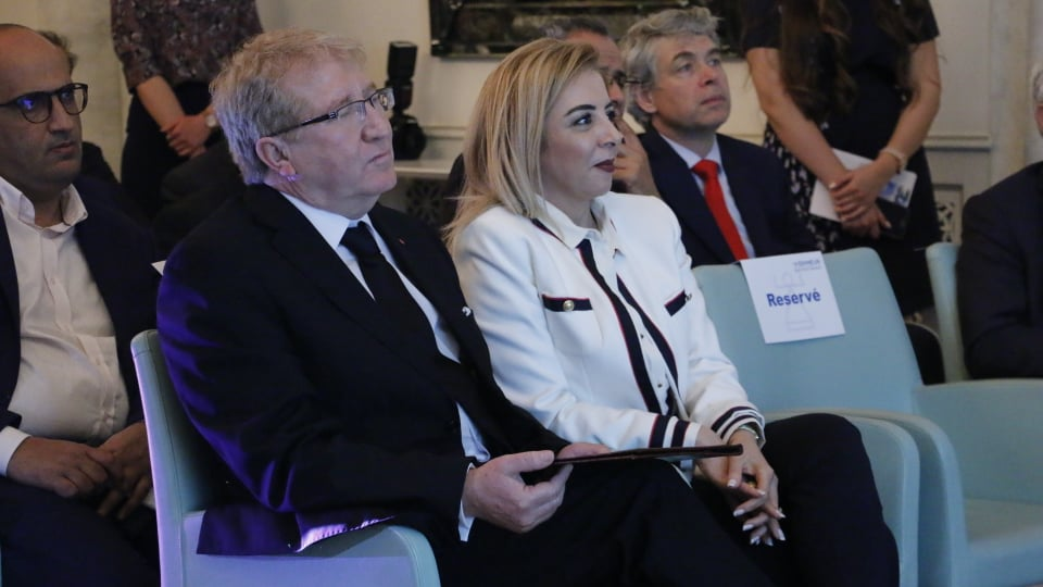 Chokri Jeribi et Sonia Ben Cheïkh