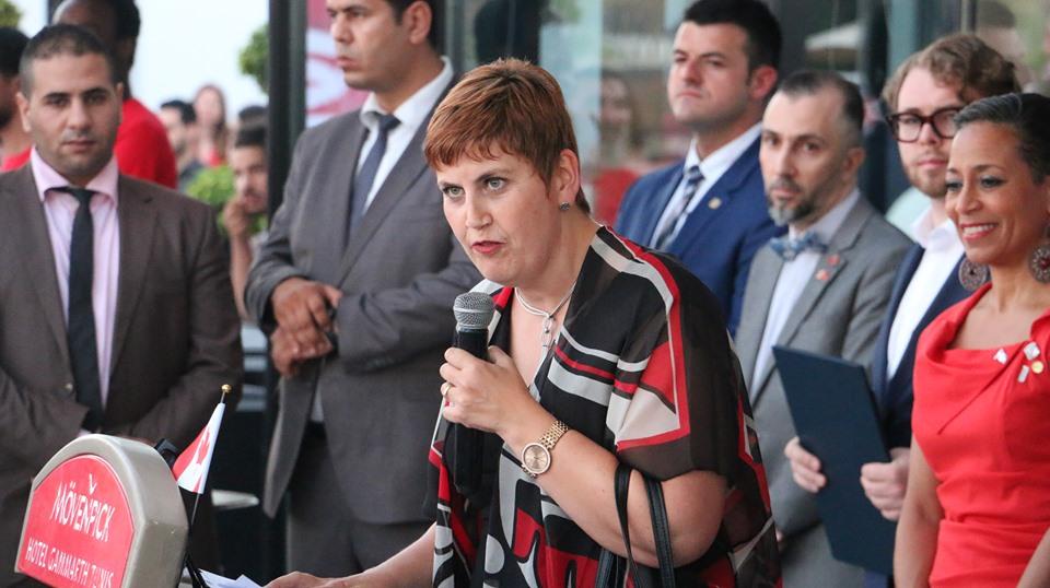 -L'ambassadrice McQueen s'est engagée à continuer à renforcer les relations bilatérales et les liens solides d'amitié qui unissent le Canada et la Tunisie