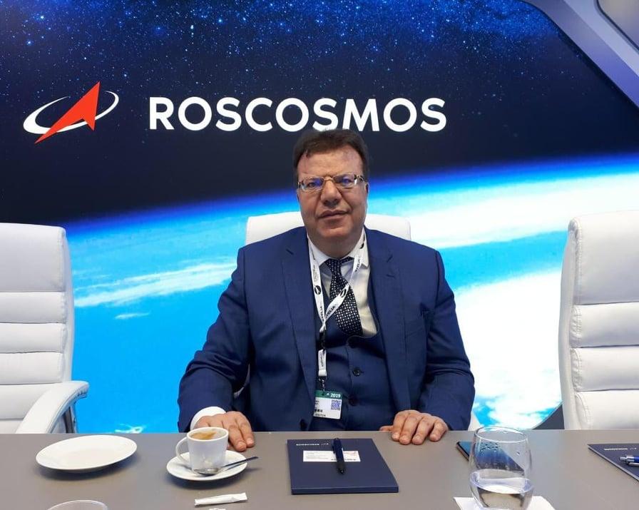 Mohamed Fikha à Roscosmos
