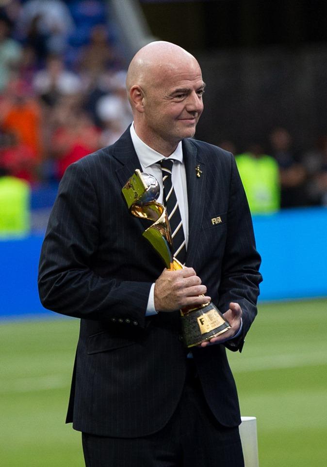 Gianni Infantino,président de la FIFA