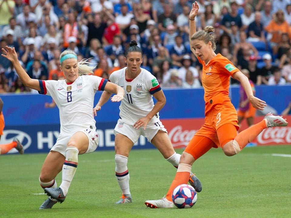 Les Néerlandaises sont tombées sur plus fortes qu'elles, mais peuvent être fières du chemin parcouru