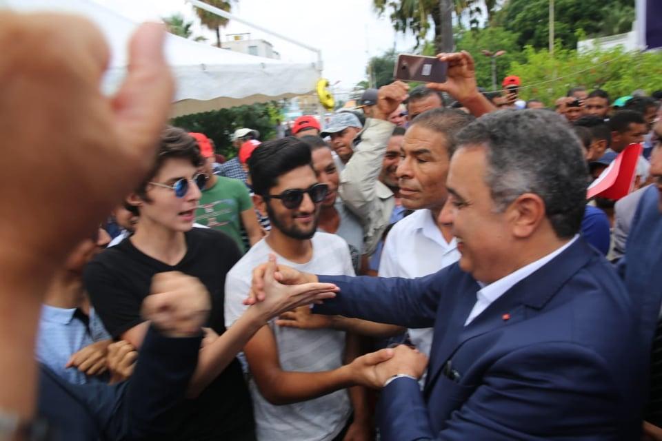 Mehdi Jomâa entame sa campagne à Bizerte