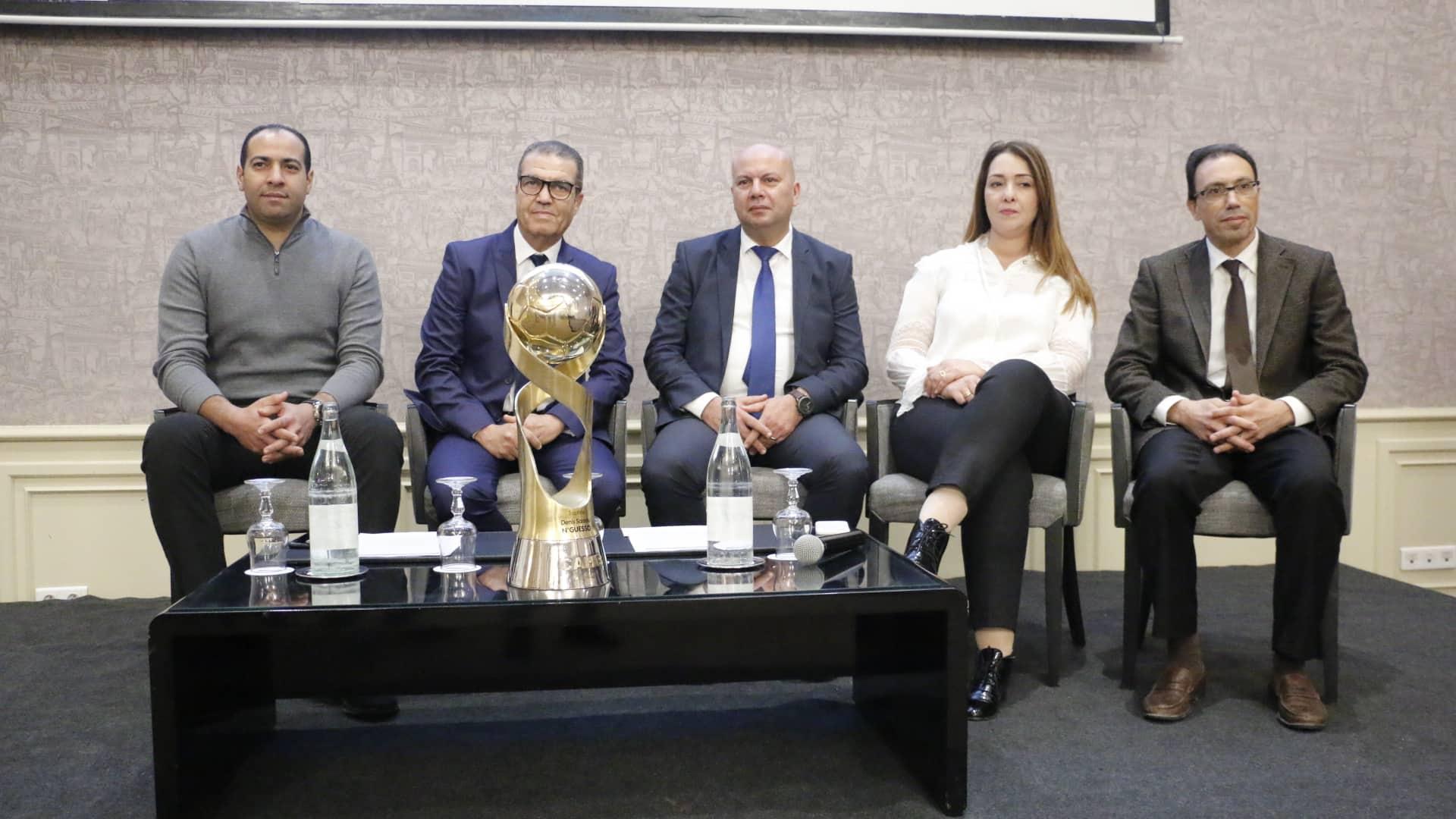 cérémonie de signature d'un Contrat de Sponsoring Officiel entre la Fédération Tunisienne de Handball et  OLA Energy Tunisie