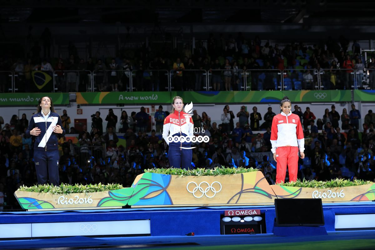 Inès Boubakri offre la première médaille à la Tunisie