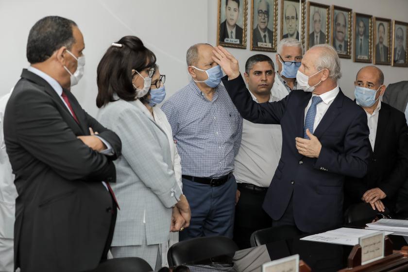 Un don du Groupe Charffedine permettra d'accélérer la livraison d'un nouveau bâtiment de réanimation de l'hôpital Farhat Hached de Sousse.