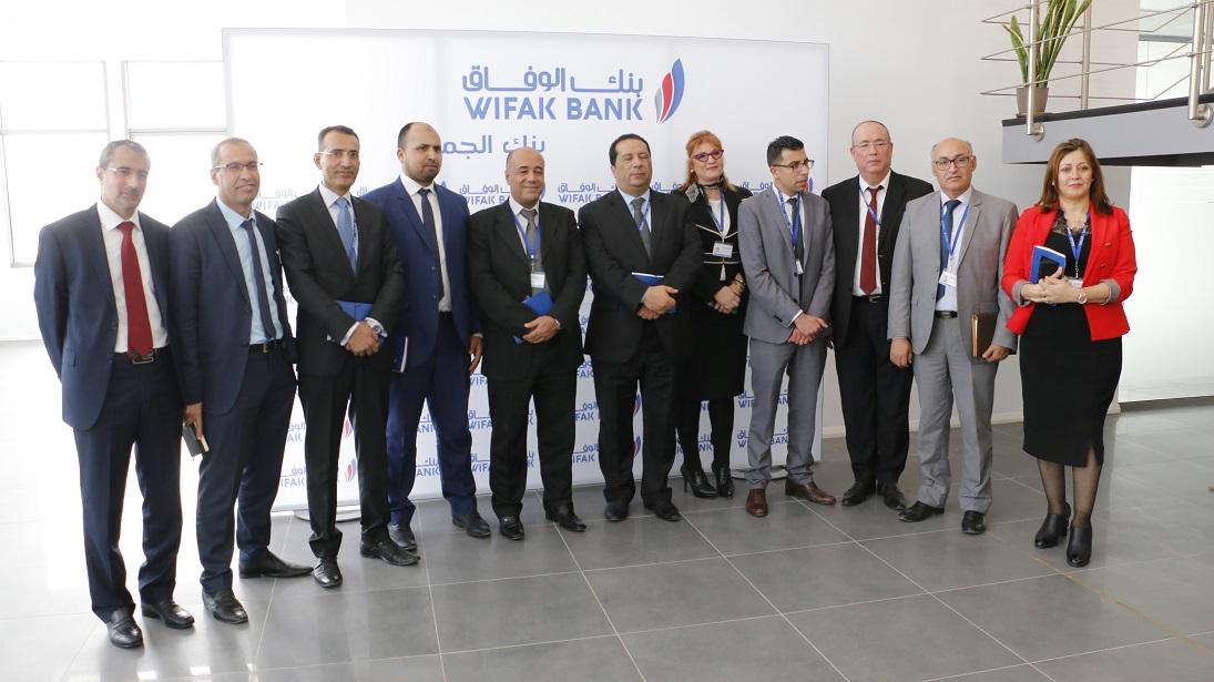 La rencontre, présidée par le Directeur Général de WIFAK BANK Mohamed Mellousse, en présence du staff directoire