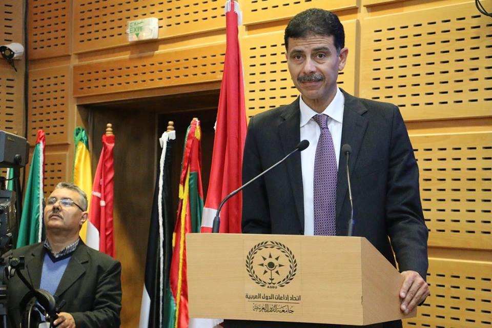 Adnen Ben Mrad, président de l'association des journalistes sportifs Tunisiens