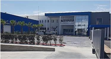 Cette seconde usine modèle s'étend su 15 000 m²