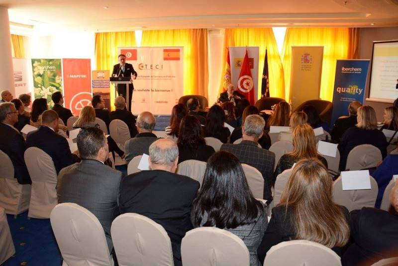 Lancement de la chambre tuniso espagnole du commerce et de for Chambre vaudoise du commerce