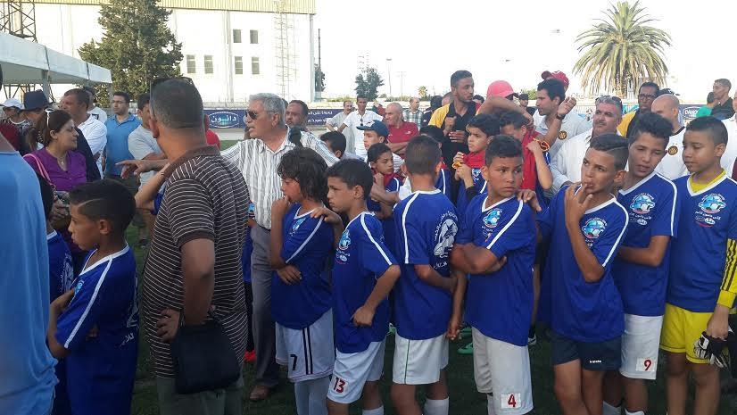 L'équipe scolaire d'al Mansourah