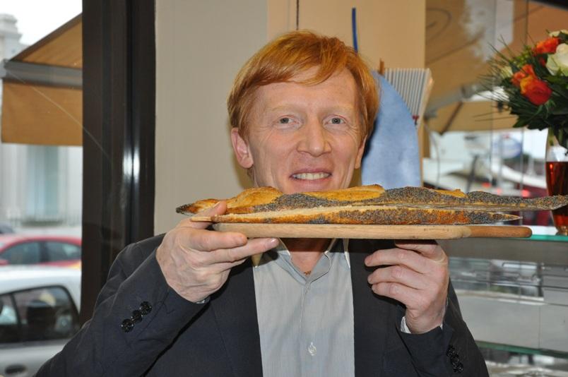 Eric Kayser présente le pain Pavot