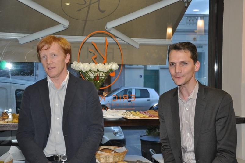 Eric Kayser et Lionel Livet présentent La Maison Kayser