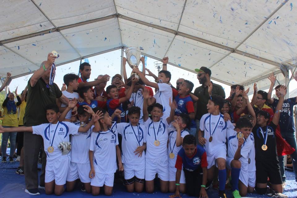 L'EST remporte de nouveau  la Danone Nations Cup