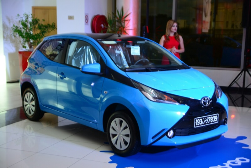 toyota lance son aygo en tunisie une citadine compacte aux performances remarquables. Black Bedroom Furniture Sets. Home Design Ideas