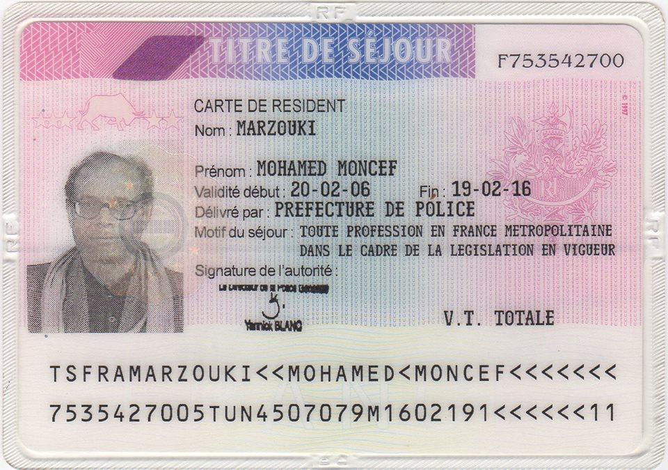 Moncef Marzouki à Safi Said: Non, je ne suis pas français