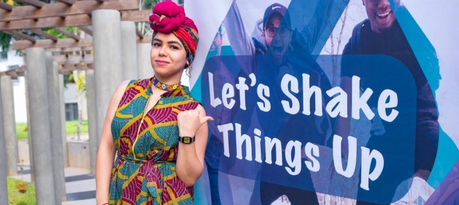 Photo Afrique Renouveau: Aya Chebbi, Envoyée de l'Union africaine pour la jeunesse