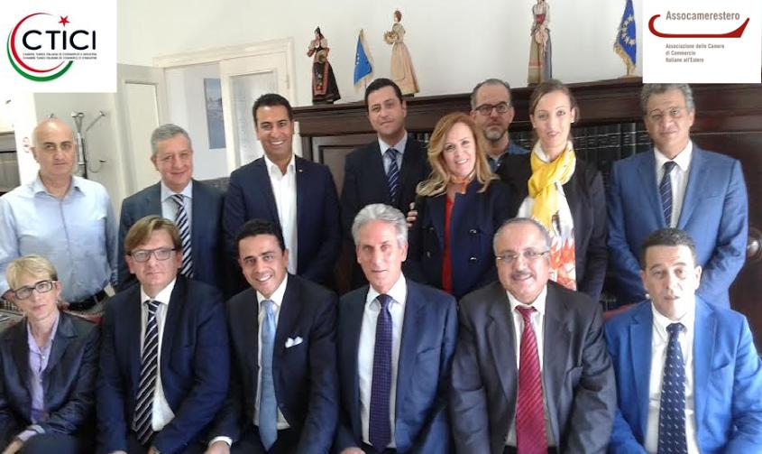 Renouvellement du mandat du pr sident mourad fradi la - Chambre de commerce italienne de nice ...
