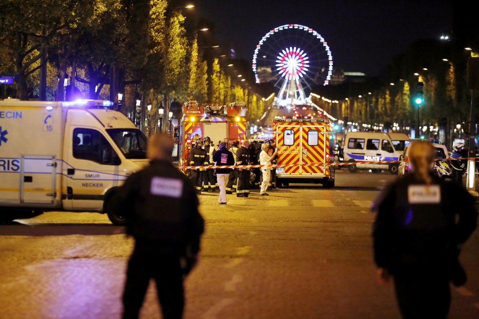 Les organisations musulmanes réagissent — Champs-Elysées