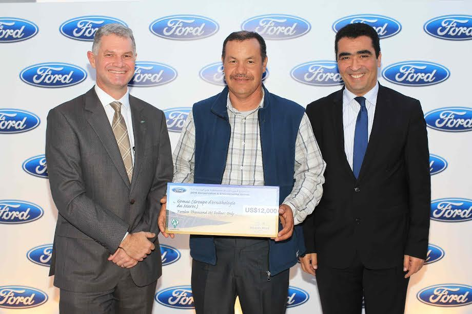 "Ford récompense les projets innovants de son programme ""Conservation and Environmental Grants"""
