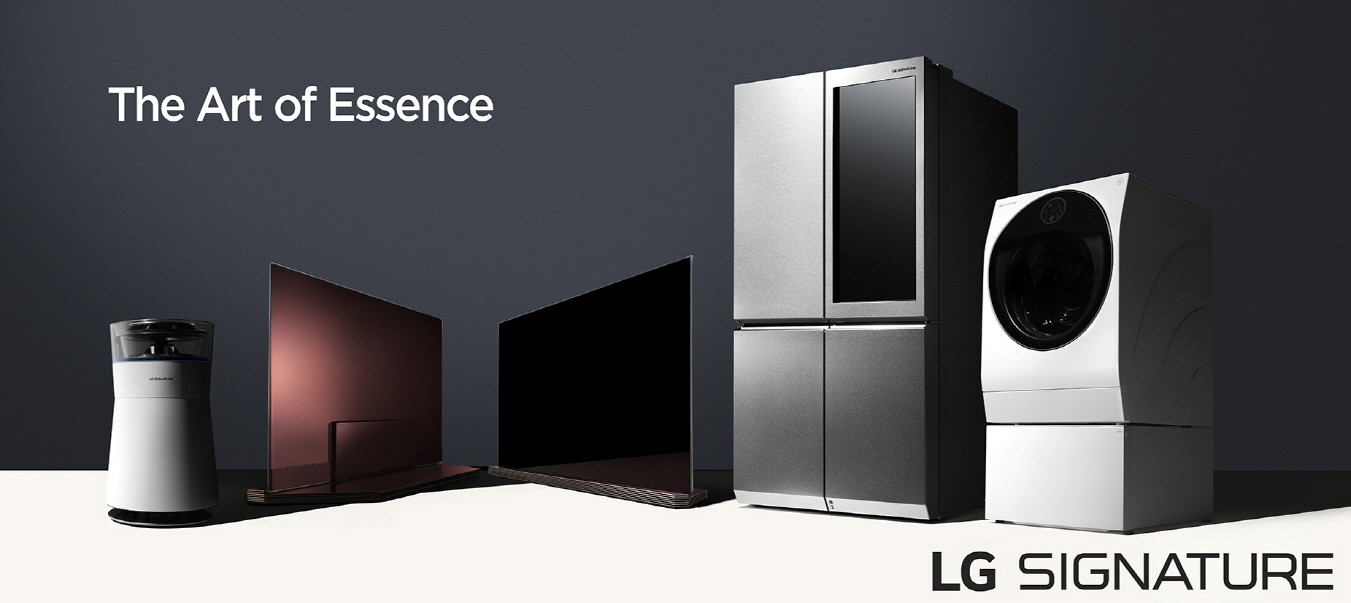 lg pr sente sa nouvelle marque signature au salon ces 2016. Black Bedroom Furniture Sets. Home Design Ideas