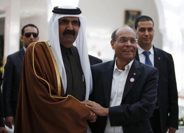 Moncef Marzouki : l'ancien Emir du Qatar est l'un des pères du Printemps arabe