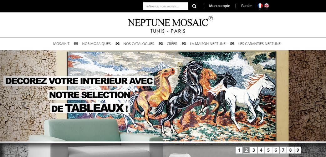 e98b3c4ba39f25 Lancement officiel du premier site tunisien de vente en ligne de Mosaïques
