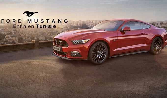 la nouvelle ford mustang d barque en tunisie. Black Bedroom Furniture Sets. Home Design Ideas