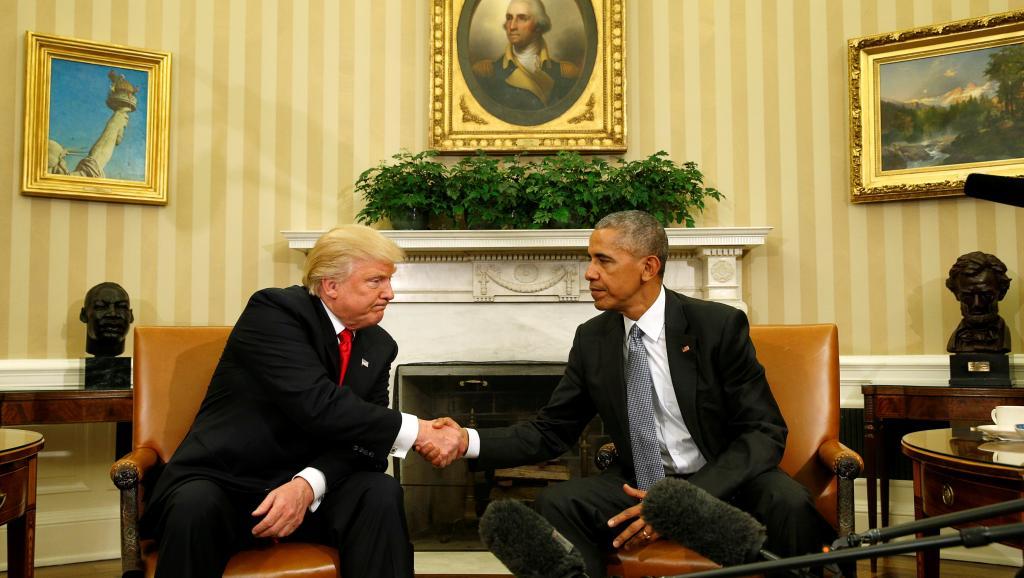 Quand trump rencontre obama pour la premi re fois - Quand tondre la pelouse pour la premiere fois ...