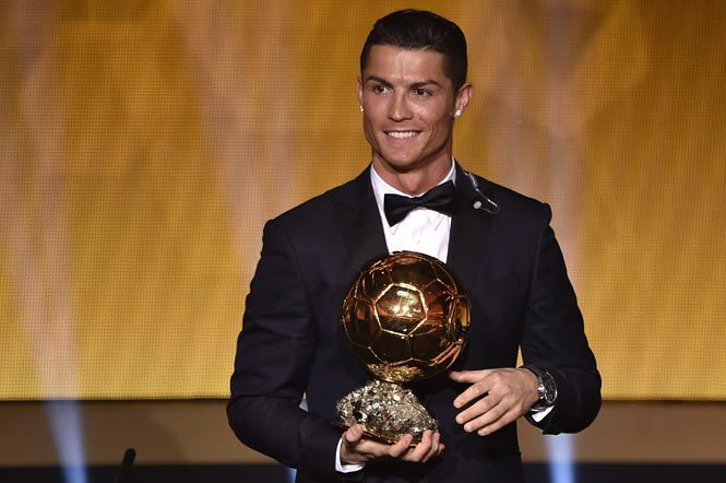 Cristiano Ronaldo CR7 ballon d'or 2016