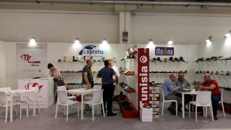 La tunisie au salon de chaussures expo riva schuh en italie for Salon de la chaussure