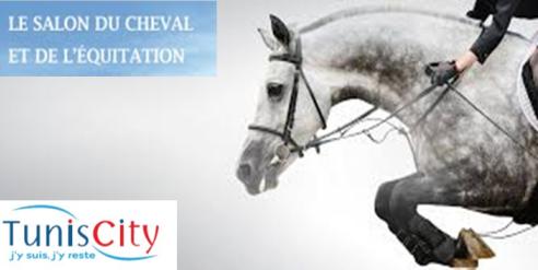 Salon du cheval et de l 39 quitation du 4 au 7 mai tunis city for Salon du cheval montpellier 2017
