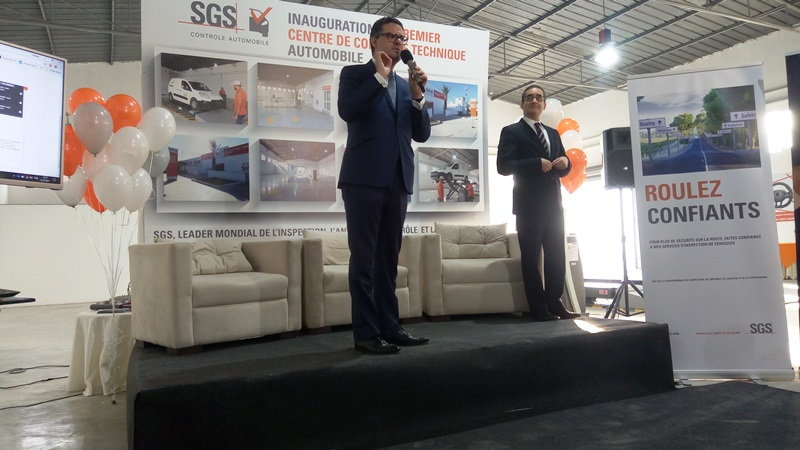 sgs lance sa division transport en tunisie et inaugure le 1er centre de contr le technique. Black Bedroom Furniture Sets. Home Design Ideas