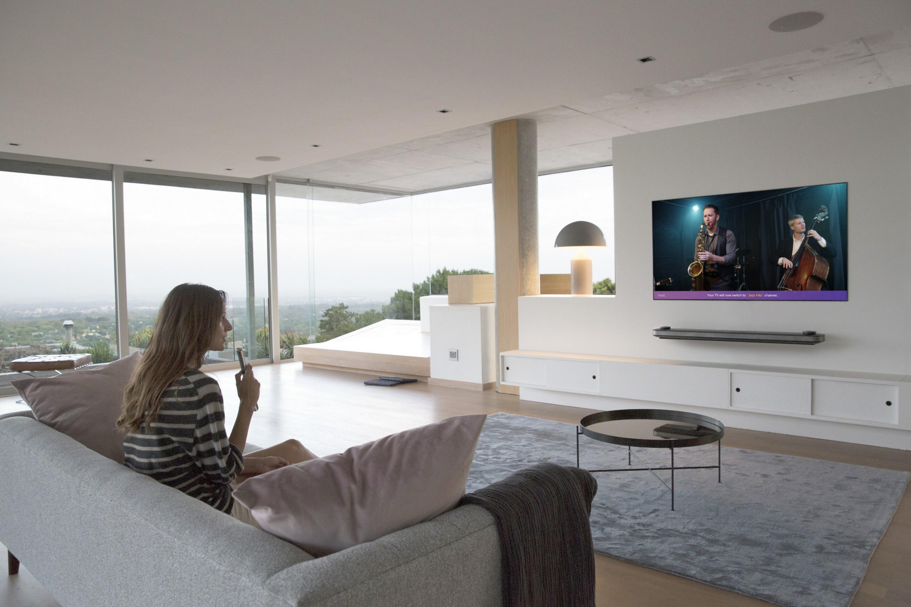 D Voile Une Nouvelle Gamme De T L Viseurs # Les Table Pour Television Nouveaute
