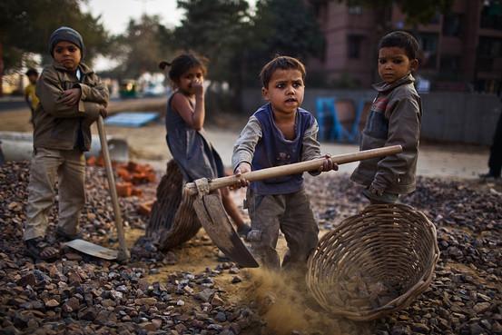 Le travail des enfants ou l\'esclavage moderne