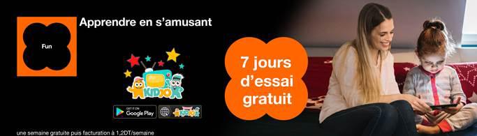 Orange lanza en exclusiva el primer televisor inteligente para niños, Kidjo TV!
