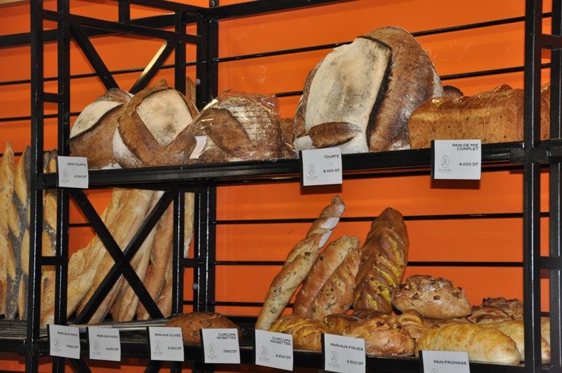 Une large gamme de pain proposée par la Maison Kayser