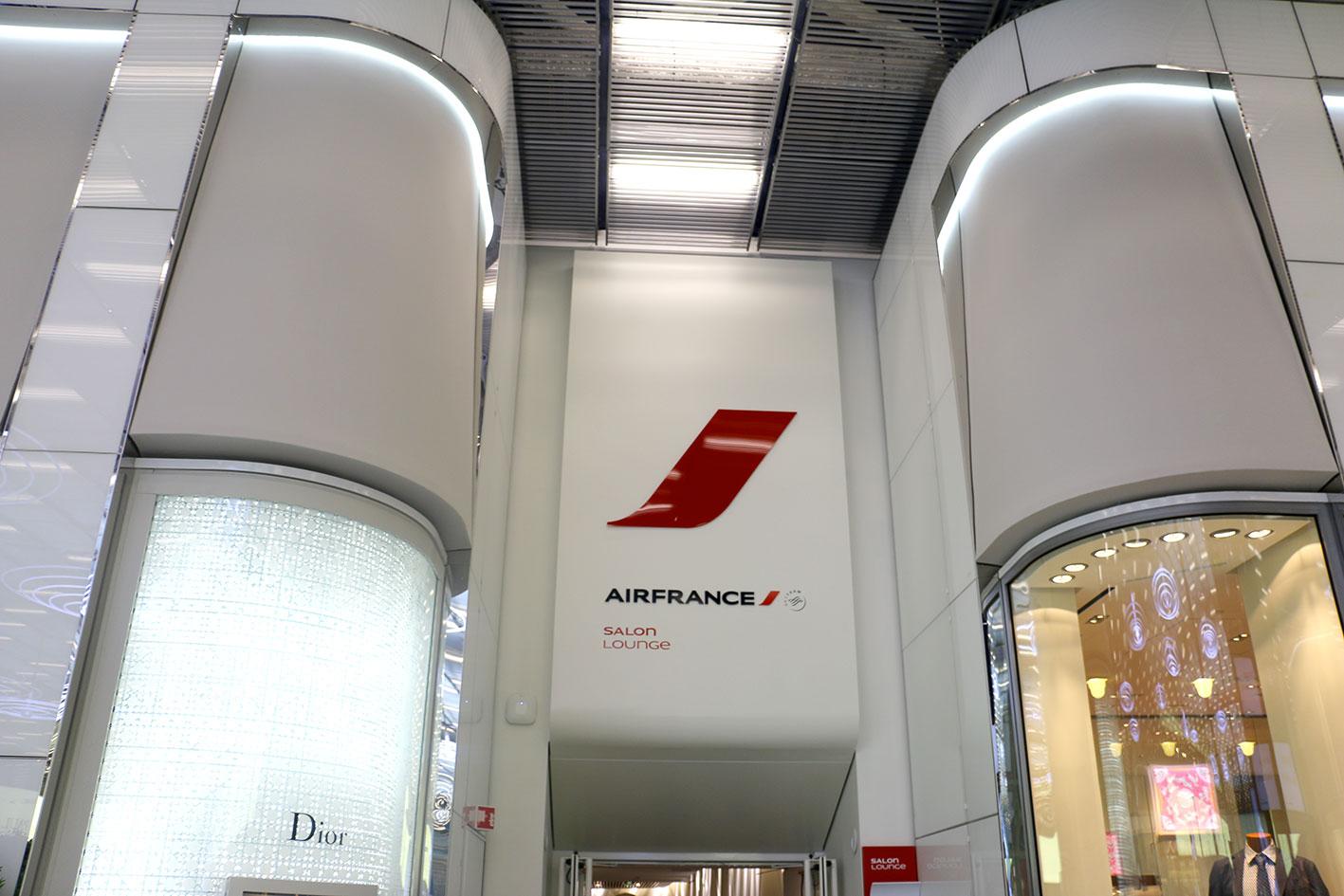 En photos au c ur du hub paris charles de gaulle for Salon air france terminal 2e