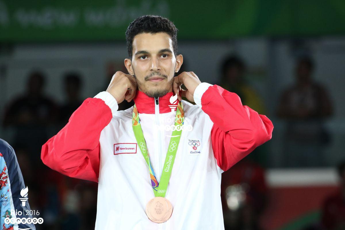 Oussama Oueslati remporte la médaille de Bronze