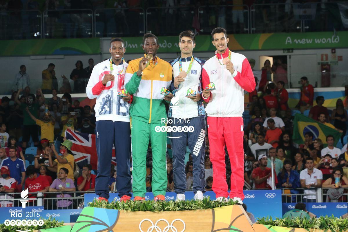 Oussama Oueslati médaille de bronze