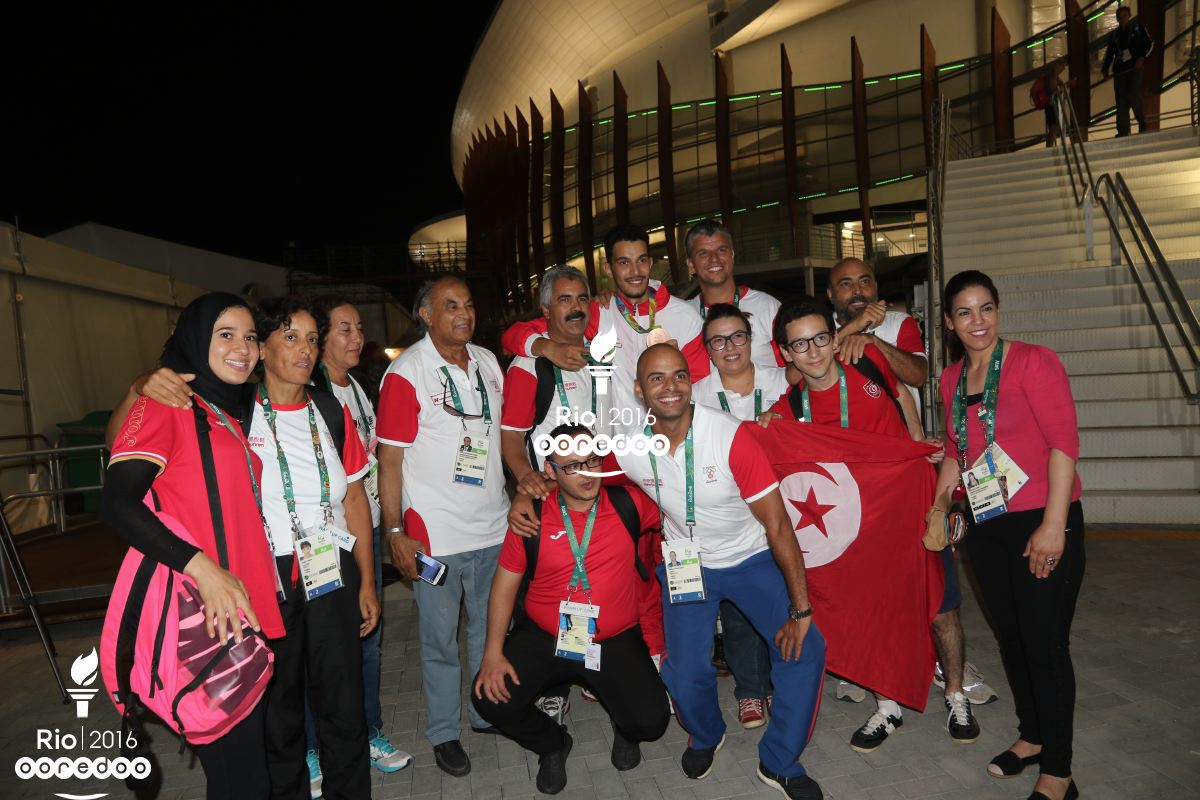 Oussama Oueslati et son équipe