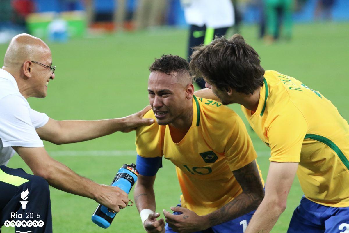 Les larmes de Neymar